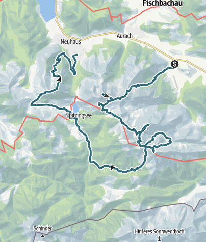 Map / Geitau - Joseftal