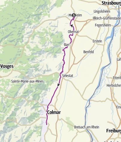 Carte / Molsheim-Egisheim