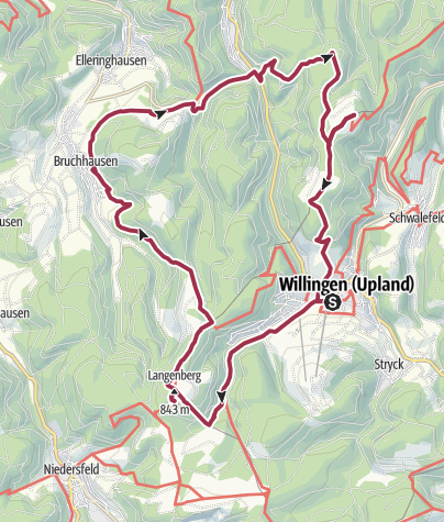 Map / Sauerland Camping in Bruchhausen