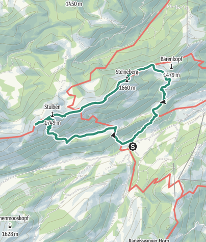Karte / Stuiben und Steineberg