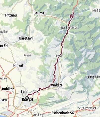 Karte / 3 Rapperswil - Hörnli