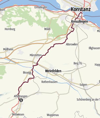 Karte / 5 Tobel-Tägerschen - (Konstanz) Hegne