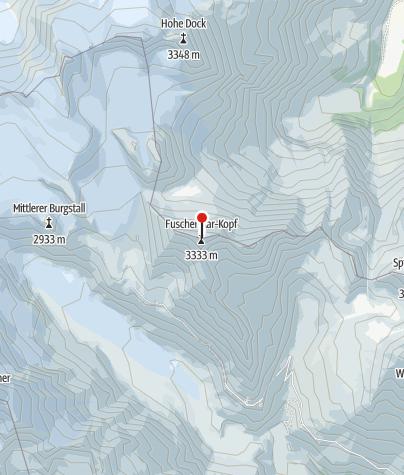 Karte / Fuscherkarkopf Überschreitung NW-Grat - SW-Grat