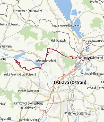 Karte Tschechien.Grenzwanderung Tschechien Etappe 33 Wanderung Outdooractive Com
