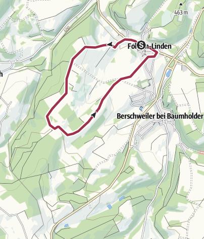 Karte / Fohren-Linden Wanderweg H