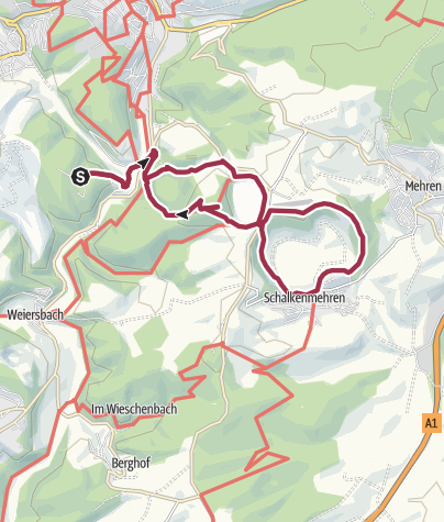 Karte / Drei-Maare-Tour