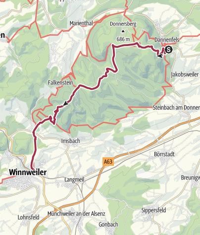 Karte / Anwandern 3. Bloggerwandern RLP (3)