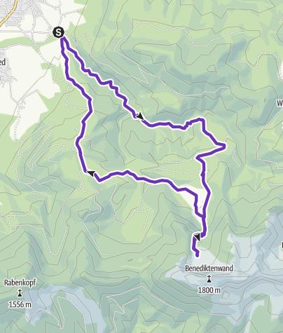 Karte / Benediktbeuern short