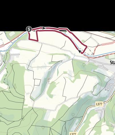 Karte / Barfußpfad Bad Sobernheim