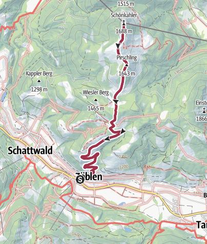 Tannheimer Tal Karte.Schonkahler Tannheimer Tal Wanderung Outdooractive Com