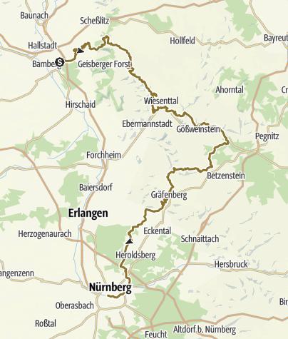 Map / Frankenweg Jack