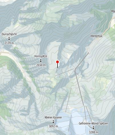 Karte / Tuxer-Joch-H. 2316m