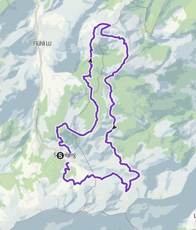 Karte / Sörenberg Mountairun 42km