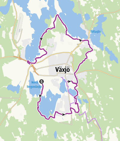 Carte / Växjö Runt