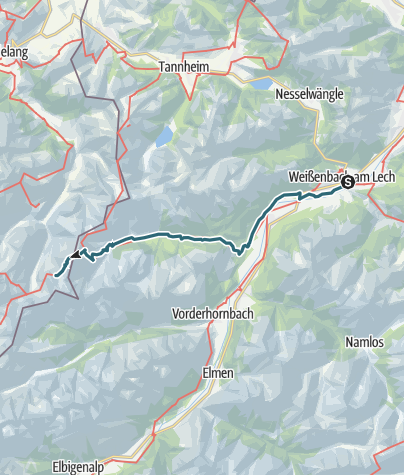 Map / VIA ALPINA - RED ROUTE - DAY NINE