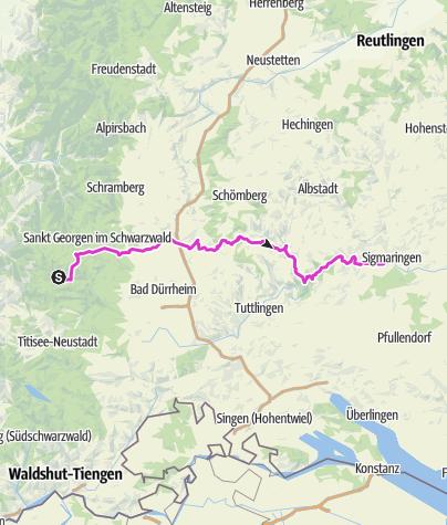 Karte / Etappe3-Nordvariante