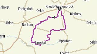 Map / B+H-2017-07-06: Sünninghausen - Hovestadt -  Benteler