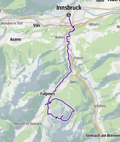 Karte / Serles