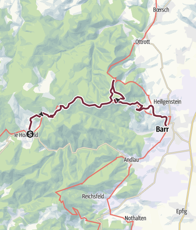 Traversée du Massif des Vosges - Etappe 10 • Wanderung ...