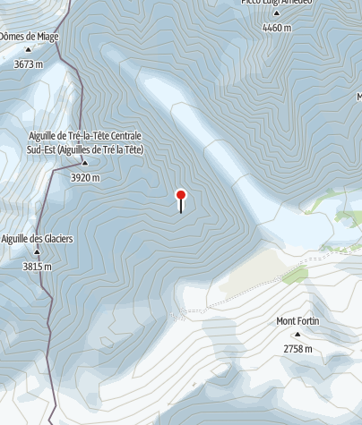 Karte / Bivacco Petit Mt. Blanc