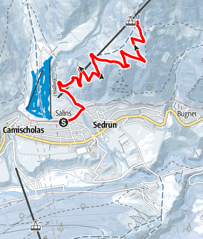 Map / Aussichtspunkt Cungieri