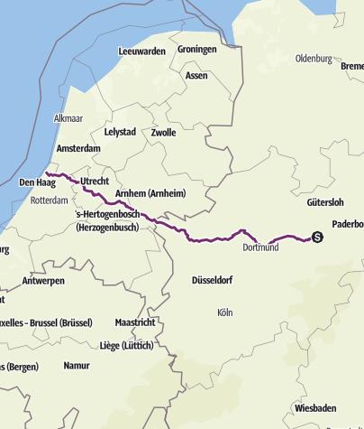 Karte / Liesborn-Noordwijk