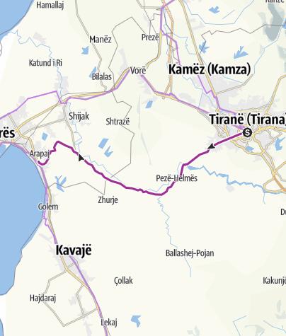 Karte / Tourenplanung am 11. Juli 2017