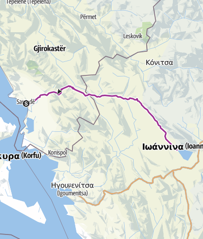 Map / Tourenplanung am 11. Juli 2017