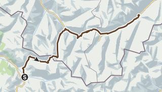 Mapa / Klosters - Ischgl (Etappe 6)