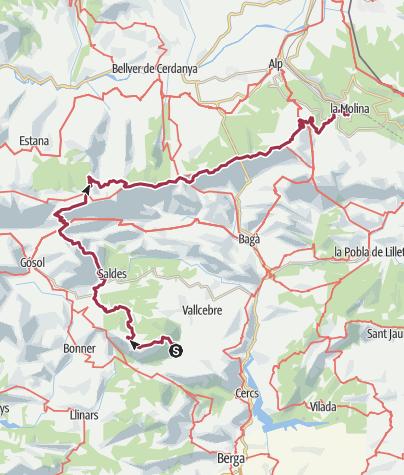 Karte / Pedraforca