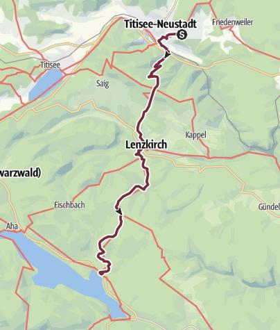 Karte / Titisee Neustadt-Schluchsee