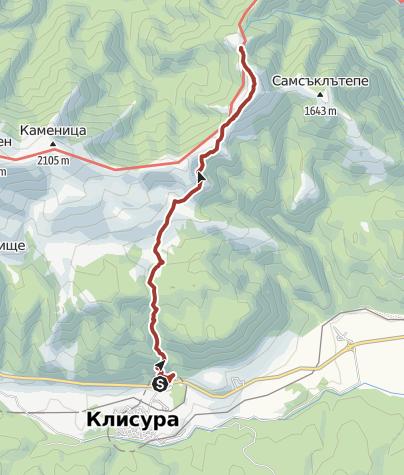Map / Klisura - base Eho