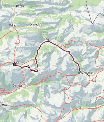 Map / Wahlwandern Tag 2 (16.9.)