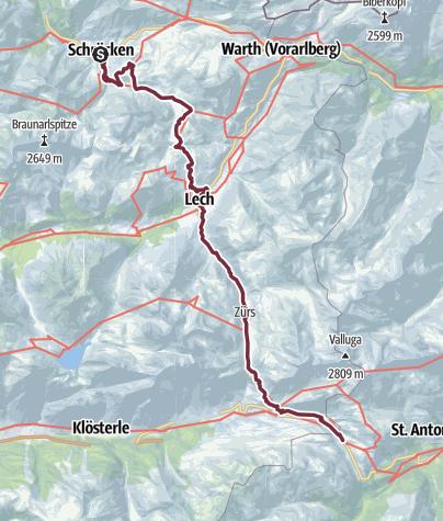 Map / Wahlwandern Tag 3 (17.9.)