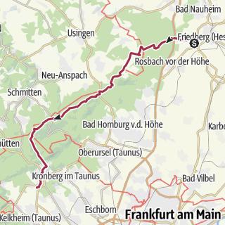 Bad Homburg Germany Map.The Top Hiking Trails In Bad Homburg Vor Der Hoehe