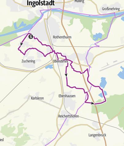 Karte / 18. Juli 2017 Ingoradler Dienstagstour zum Fuchsbau Feilenmoos