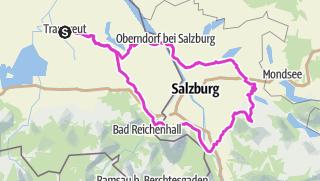 Karte / Rund um den Gaisberg