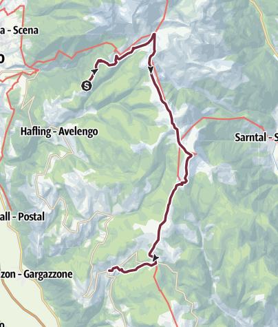 Map / Parkingspace Falzeben -Meltina