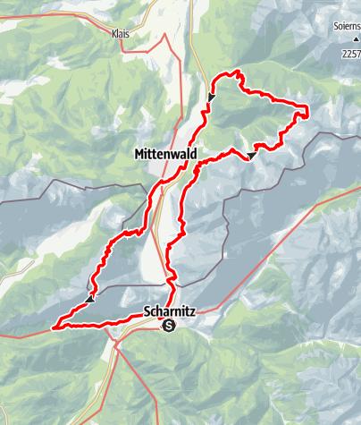 Karte / Hike KDT 2017