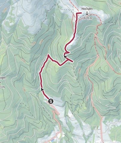 Karte / Hochalm (Seckau)