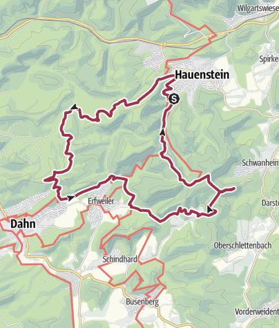 Karte / Hauenstein Römerfels Bärenbrunnerhof