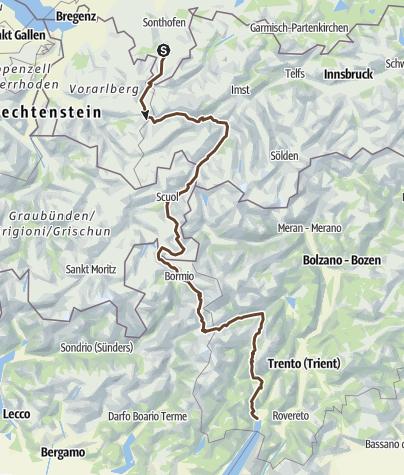 Map / Transalpina Facil-Facil