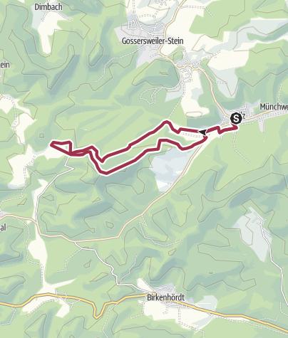 Karte / Silz - Naturparkrundweg 26