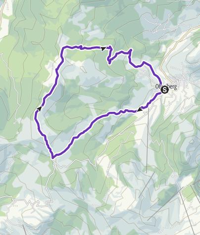 Karte / Furgeller Run
