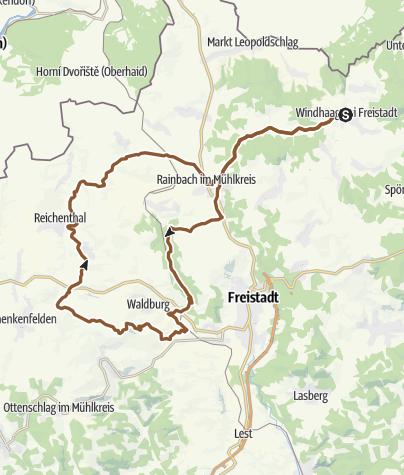 Karte / Windhaag Waldburg Reichental