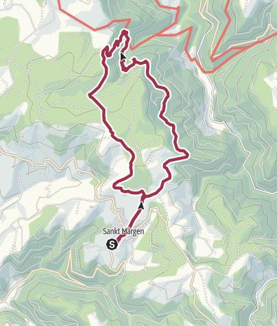 Karte / St. Märgen/Zweribach
