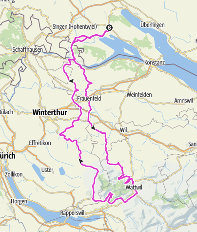 Karte / CH_Toggenburg_Oberricken