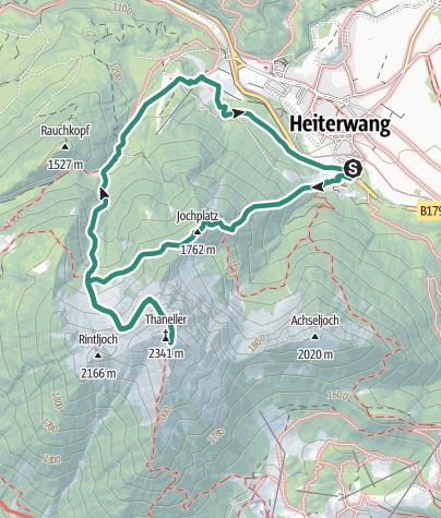 Map / Thaneller 2341m