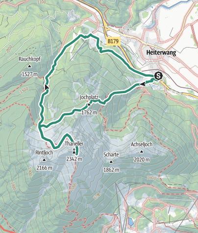 Map / Thaneller 2341m