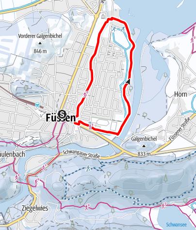 Karte / Bootshafen-Runde